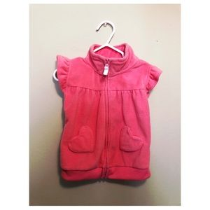 Pink Heart Vest